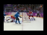 Все голы олимпийского турнира по хоккею в Сочи-2014 (мужчины) (русский комментарий вживую и не только) (часть 3)
