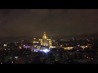Здание МИД, гостиница Украина, Moscow City и дом на Кудринской площади (если не ошибаюсь))