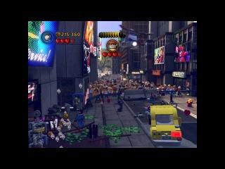 Прохождение игры лего Marvel Super Heroes 2 серия