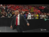 Sting make a first appearance at RAW!!! (WWE RAW  19.01.2015)